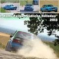 1. ADAC Rallye Südliche Holledau 2013