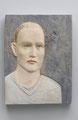 """""""Mann"""", 2012, Holz, 44 x 34 cm"""