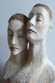 """Siamese Twins"", 2011, ca. 50 x 25 x18 cm"