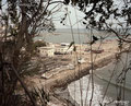 福島県いわき市 広野町 広野火力発電所 海沿いの被害は甚大だった。