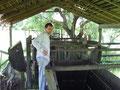 unsere Freund Wolfgang im Corall bei der Viehzählung
