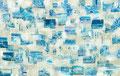 スクラップブックのような絵画 #18 / 2014 / アクリル、メディウム、ジェッソ、キャンバス / 1730×2760 mm