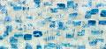 スクラップブックのような絵画 #17 / 2014 / アクリル、メディウム、ジェッソ、キャンバス / 1730×3680 mm
