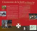 L'économie de la forêt au Moyen Âge
