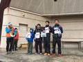5km男子表彰式