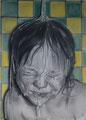 ohne Titel (2015) Graphit und Polychromos auf Papier 42 x 59,5 cm