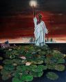 """""""Auferstehung"""" (2016) 80 x 100 cm, Öl auf Leinwand"""