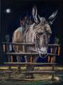 """""""Untragbar"""" (2015) Öl auf Leinwand 30 x 40 cm"""