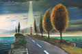 """Aufbruch"" (2016) Öl auf Leinwand 120 x 80 cm"