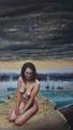 """""""Ausgrenzung"""" (2015) Öl auf Leinwand, 44 x 77 cm"""