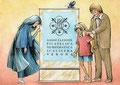 Pinocchio a Verona la Fata Turchina - Mastro Geppetto
