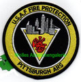 """Pittsburgh ARS USAF Fire Protection (4"""")"""