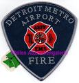 Detroit Metro Airport ARFF