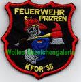 KFOR 35 Feuerwehr Prizren