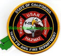 CA ANG Fresno 144th FW Fire Dept., Prototype patch, never worn