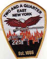 """Eng. 225 """"Two and a Quarter"""" (no """"FDNY"""")"""