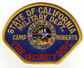 Camp Roberts Fire Security Dept.