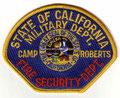Camp Roberts Fire Security Dept.