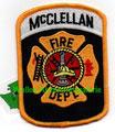 """McClellan AFB FD (closed 2001) 2.75"""" x 3.75"""""""