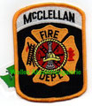 "McClellan AFB FD (closed 2001) 2.75"" x 3.75"""