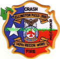 Ellington Field JRB Crash Fire Rescue, 147th RECON WING