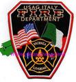 USAG Italy Fire Dept., Vicenza/Livorno
