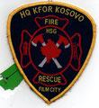 """KFOR HQ Kosovo Fire Rescue """"Film City"""""""
