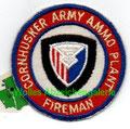Cornhusker Army Ammo Plant Fireman