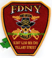 "FDNY E207 L110 B31 D11 ""Fort Greene"""