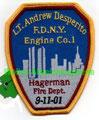 FDNY Engine Company 1,  Lt. Andrew Desperito