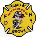 FDNY Squad 61, black trim
