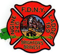 "FDNY Engine 246 Ladder 169 ""Brighton's Bravest"""