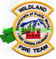 Fort Carson, Wildland Fire Team