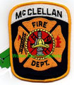 "McClellan AFB FD (closed 2001) 3.5"" x 4.5"""
