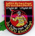 Militärischer Brandschutz, 30. DEU EinsKtgt