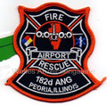 182nd ANG Peoria Airport Fire Rescue