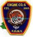 FDNY Eng. Co. 6  Est. 1865