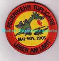 Bundeswehrfeuerwehr Toplicane, Mai-Nov 2005