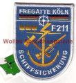 Schiffsicherung Fregatte Köln, Bw-Feuerwehr