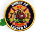 """FDNY Engine 66 / Ladder 61 """"NY"""""""