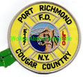 Engine 157 Ladder 80 Port Richmond Cougar Country