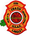 Langley USAF Crash Fire Rescue