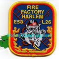 "FDNY Engine 58 / Ladder 26 ""Fire Factory Harlem"""
