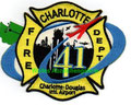 Charlotte Douglas Airport FD Sta.41, NCANG 145th Airlift Wing
