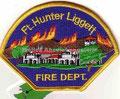 Fort Hunter Liggett Fire Dept.