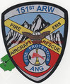 151st ARW Utah ANG ARFF, woven version