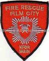 """KFOR Hauptquartier Pristina/Serbien Camp """"Film City"""" Fire Rescue"""