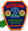 "FDNY Battalion 2 ""Greenwich Village"""