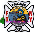 "FDNY Engine 263 ""Astoria Road Runners"""