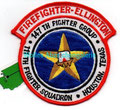 Ellington Field Air Base Firefighter, 147th Fighter Group, 111th Fighter Squadron